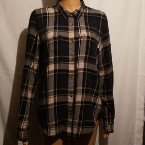 Van's Long Sleeve Button Up Flannel